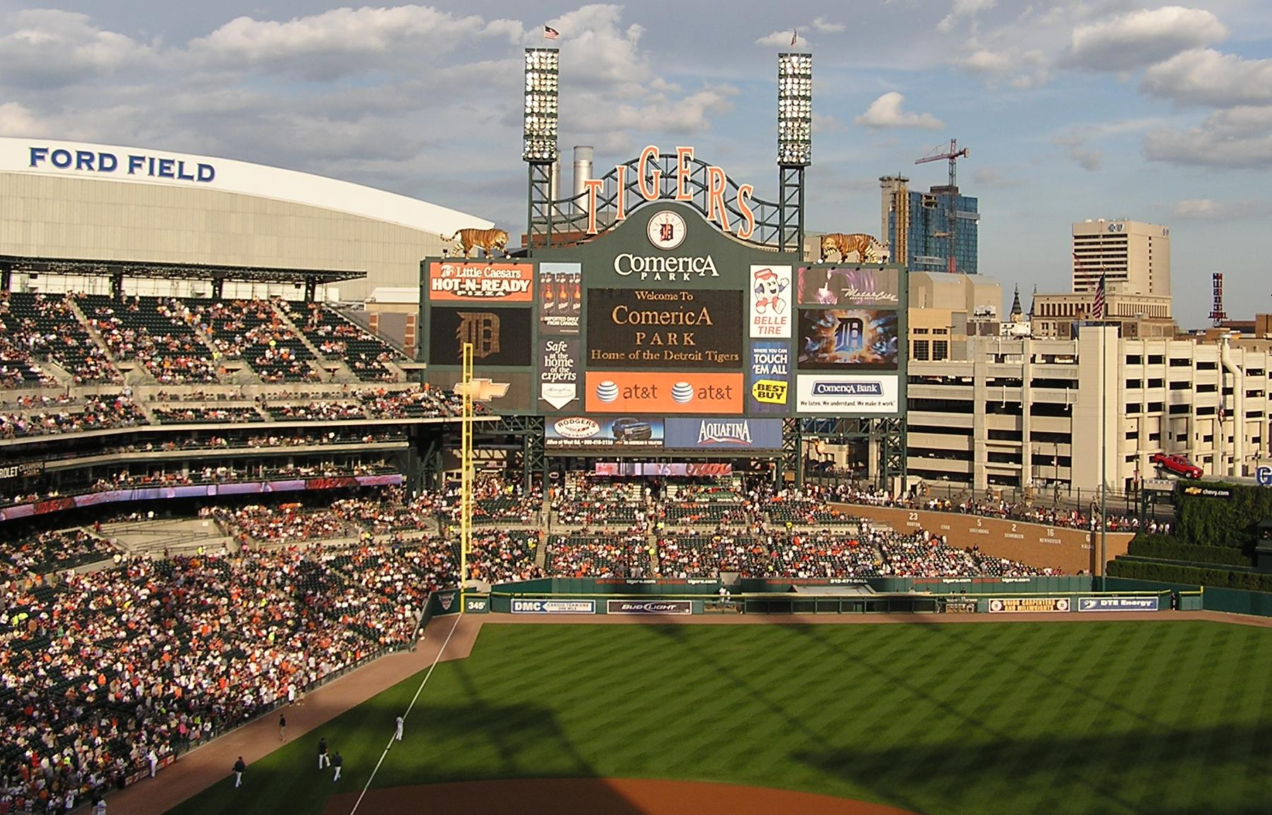 Welcome to Comerica Park - Detroit, Mi