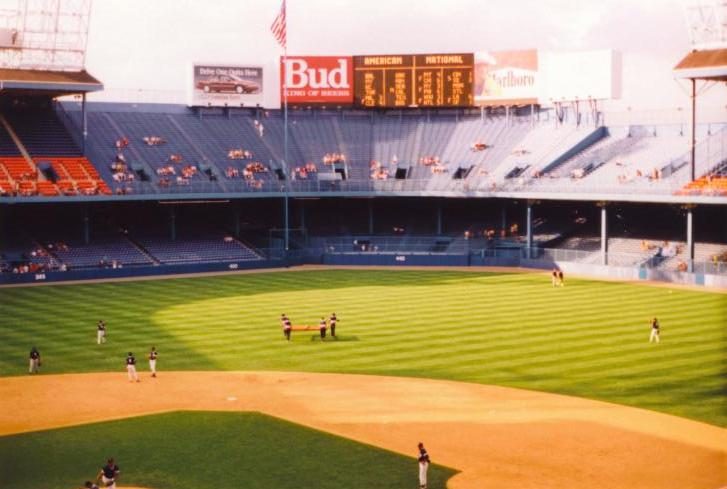 The Scoreboard straight away - Tiger Stadium