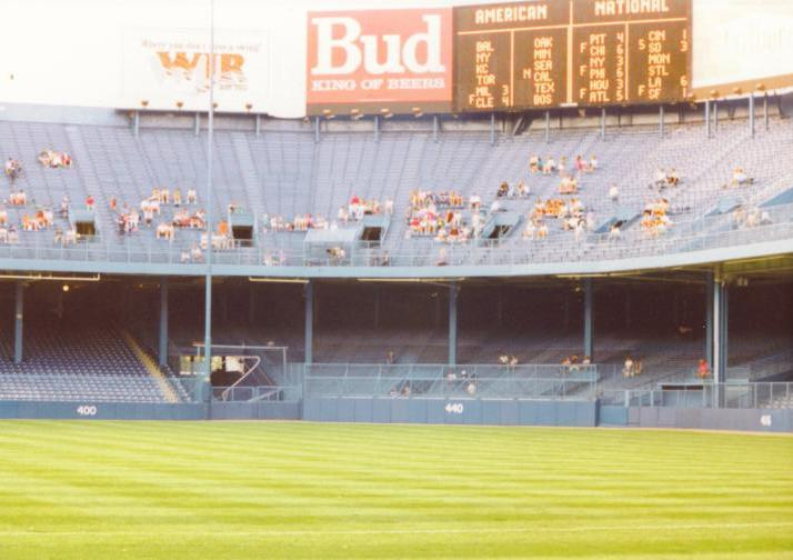 The historic Tiger Stadium field - Detroit, Mi