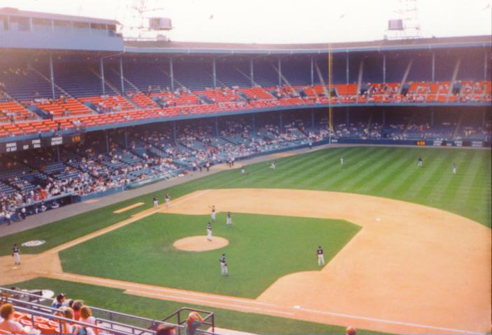 Another view from 1st base - Tiger Stadium