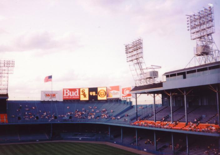 White Sox vs Tigers - Tiger Stadium